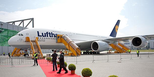 A380 Lufthansa